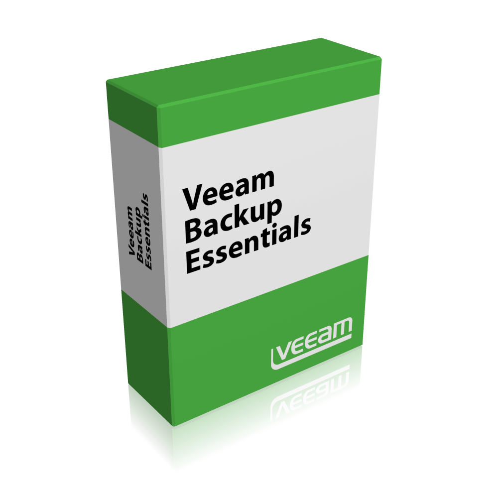 1 Additional Year Of Basic Maintenance Prepaid For Veeam Backup Essentials Standard 2 Socket Bundle For VMware  (V-ESSSTD-VS-P01YP-00)